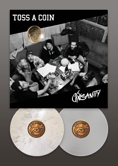 Insanity 'Toss A Coin' 12inch